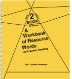 A Workbook of Resource Words for Phonetic Reading - Book 2