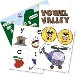 Vowel Valley Sound Wall with Alternate Spellings