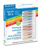 Wonder Stix Dry Erase Crayons -- Set of 24