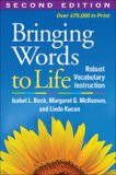 Bringing Words to Life Second Edition Robust Vocabulary Instruction