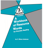 Workbook of Resource Words for Phonetic Reading - Book 3
