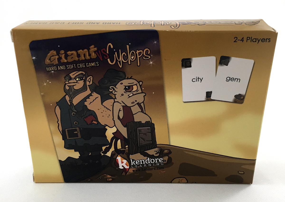Giant vs. Cyclops Hard and Soft C&G Card Games