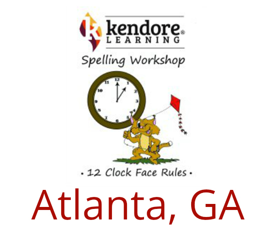 Kendore Multisensory Spelling (Onsite or Distance Learning) Atlanta, GA: July 25, 2019