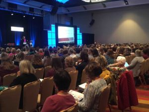 Jennifer Hasser, M.Ed. spoke to a packed house at the International Dyslexia Association Conference in 2017.