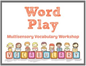 Kendore Word Play Multisensory Vocabulary Workshop